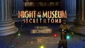 NIGHT AT THE MUSEUM ANIMATION